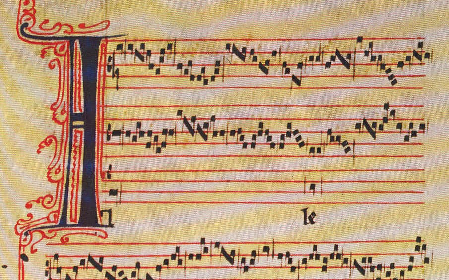 Perotin's Alleluia nativitas (source: Wikipedia)