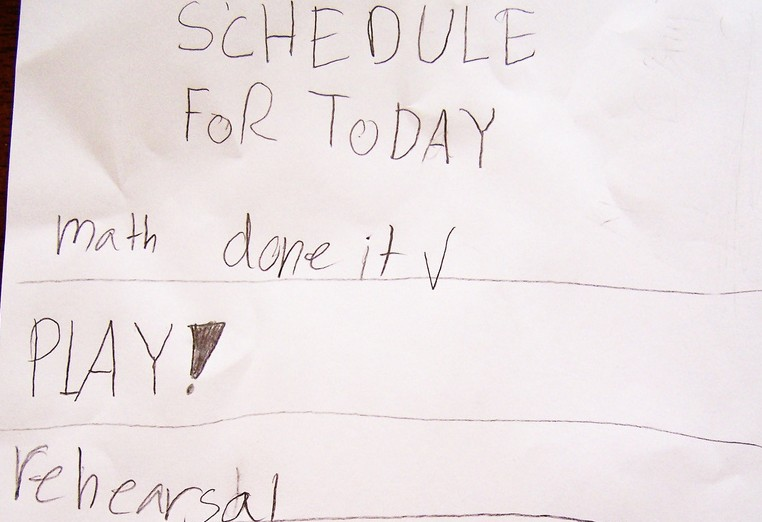 Photo: kid to do list, by rog2bark (Flickr)