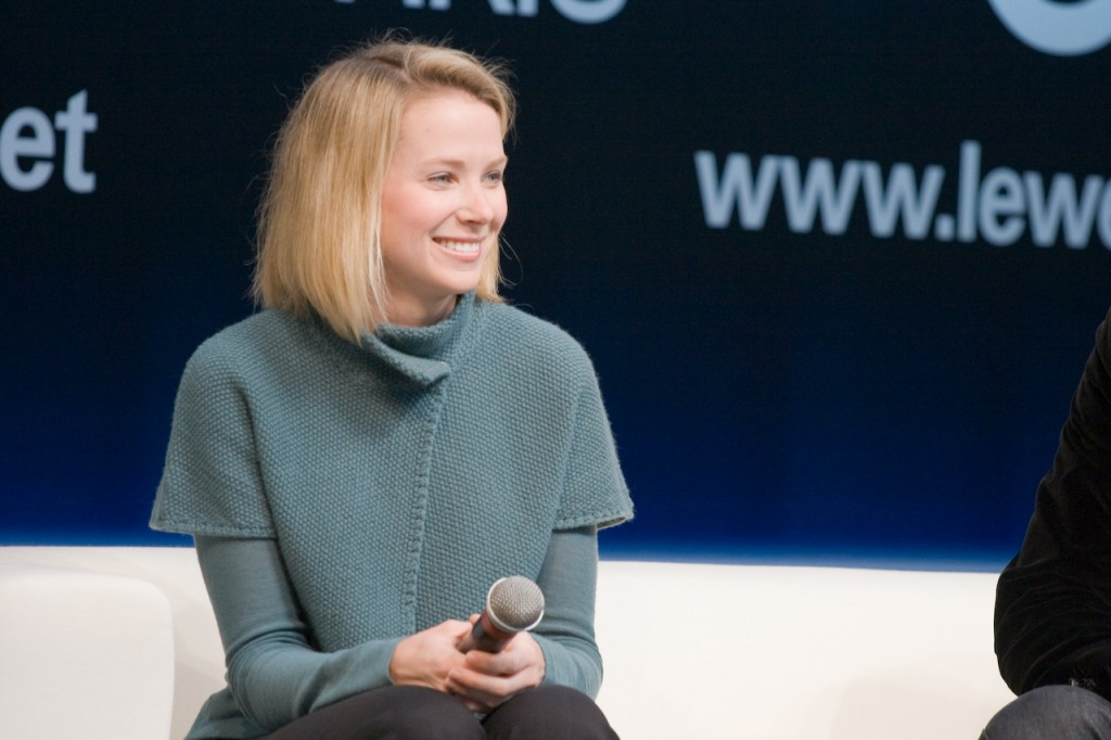 Photo of Marissa Mayer by Giorgio Montersino (Flickr)